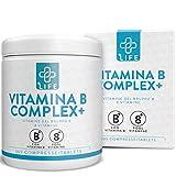 Piulife® Vitamina B Complex+ ● 365 Comprimidos de Dosis Alta ● Vitaminas del Grupo B para el Bienestar Diario ● Vitamina B1, B2, B3 (Niacina), B5, B6, B7 (Biotina), B9 (Ácido Fólico) y B12. Complejo B