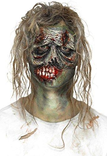 Smiffys 46781 Smiffy's Schaumstoff-Latex Zombie-Augenprothese, grün, Einheitsgröße
