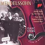 A Life In Music Vol. 20 (Klaviertrios von Mendelssohn-Bartholdy) - saac Stern