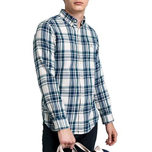 Gant D2. Wb Flannel Indigo Reg Shirt
