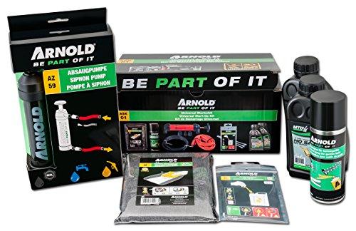 ARNOLD Rasenmähern, 9100-X1-1005 ASK01 Start-Up Kit für benzingetriebene Rasenmähern, Vertikutieren, 5-teilig, 1 Stück