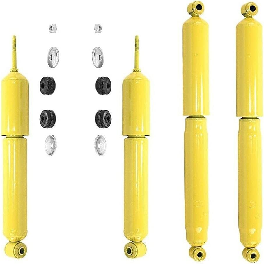 Front Rear Max 72% OFF quality assurance Shock Absorbers Gas-Magnum with F-350 Compatible RW