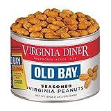 Virginia Diner - Gourmet Old Bay Seasoned Virginia Peanuts, 18 Ounce Tin