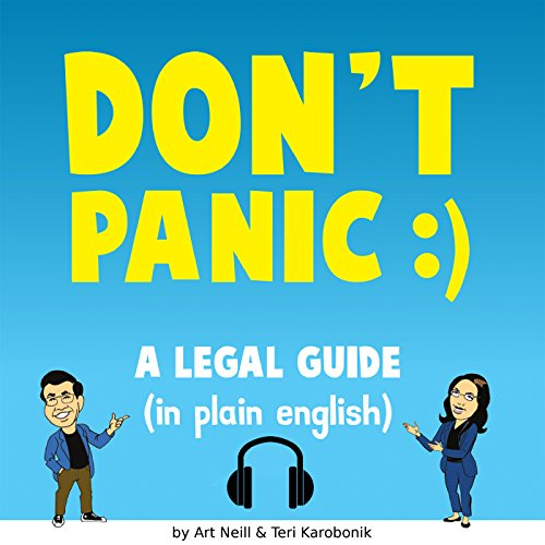 Don't Panic audiobook cover art