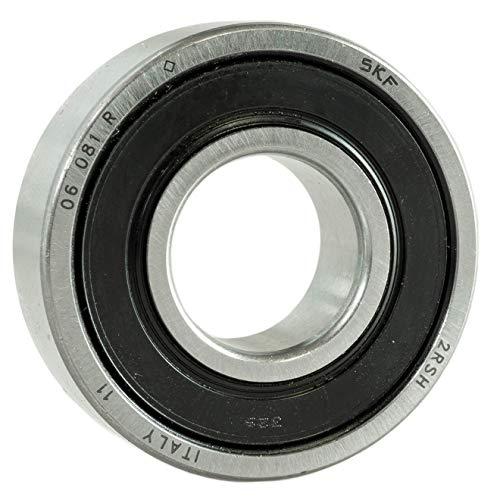 Rodamientos de bolas SKF 6205 2RS (2RSH); para eje de 25 mm (25 x 52 x 15 mm; rodamiento de bolas de una fila, sellado por ambos lados)., 25 x 52 x 15 mm, 10