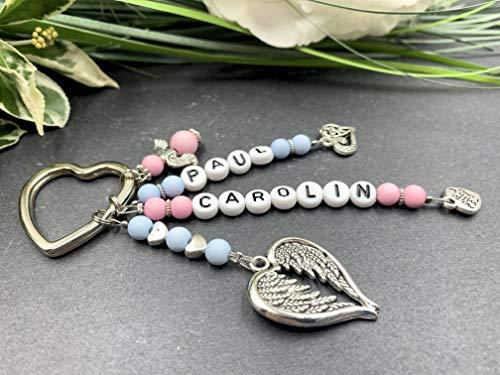 Schlüsselanhänger Name, Schlüsselanhänger Kinder, Geschenk für Mama, Schlüsselanhänger Herzensmensch, Geschenkidee Oma
