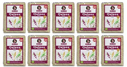 Mary Linda BIO Quinoa Korn - Vegan ohne Gluten &...