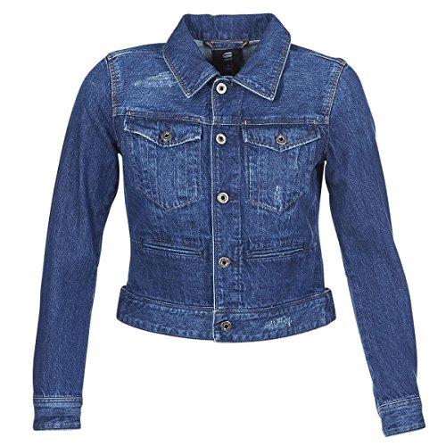 G-STAR RAW D-STAQ Dc DNM Jacken Damen Blau/Sato - S - Jeansjacken Outerwear