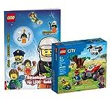 Collectix Lego City Set – Quad de rescate de animales 60300 + juego de rompecabezas para héroes Lego (cubierta blanda)