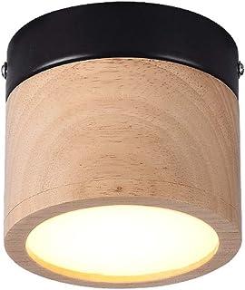 Luminaire de LED plafond Spot Light 5W Bois Art Spotlight Surface lampe montée, d'appareils d'éclairage COB Idéal for Coul...