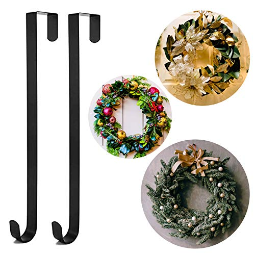 Chram Moi Christmas Wreath Hanger for Front Door