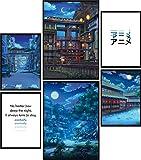 Calias® Premium Poster Set Anime | Bilder Set für