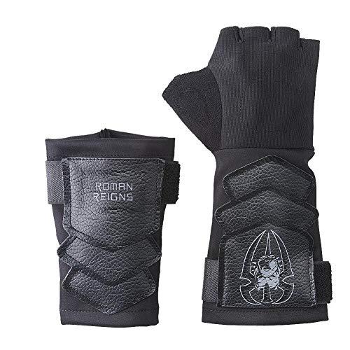 WWE Roman Reigns Groß Hund Entfesselt Schwarz Kopie Handschuh Set - Schwarz, One Size