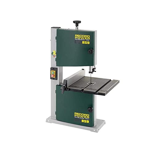 """Record Power BS9 9"""" Bandsaw"""