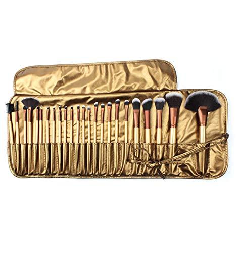 QXX-Make-up Brush Pinceaux de Maquillage, 24pcs Haut de Gamme synthétique Souple Artificielle Bristle Fondation Lip