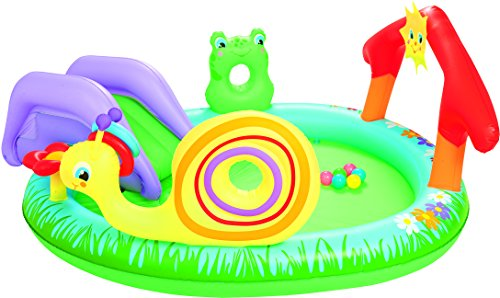 Bestway 53055 - Piscina Hinchable Infantil Play & Grow 211x155x81 cm