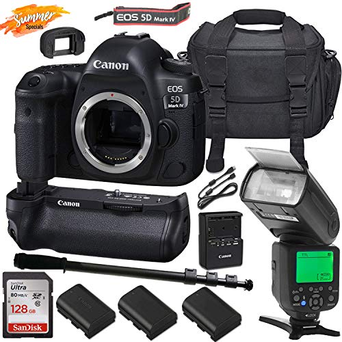 Amazing Deal Canon EOS 5D Mark IV DSLR (Body Only) Camera & Canon BG-E20 Battery Grip Summer Special...