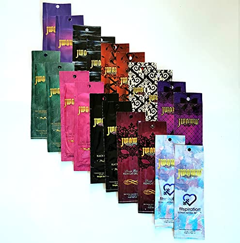 10 Jwoww Tanning Lotion Sample Packets 10 Australian Gold Jwoww Packets 0.5 oz each