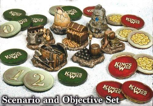 Kings of War: Juego de Escenario y Objetivo: Amazon.es: Juguetes y juegos