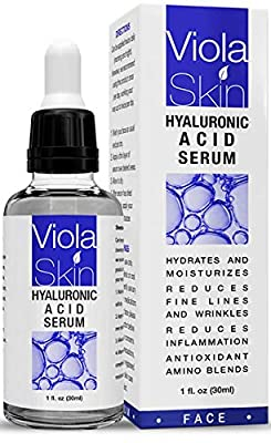 𝗣𝗢𝗪𝗘𝗥𝗙𝗨𝗟 𝗔𝗗𝗩𝗔𝗡𝗖𝗘𝗗 Hyaluronic Acid Serum Face Serum. Hydrate, Plump & Moisturise. Use Hyaluronic Acid To Protect & Increase Cell Production. Anti Wrinkle Face Serum. Over 500,000 Sold by Violaskin