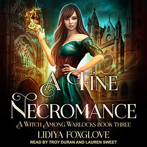 A Fine Necromance audiobook cover art