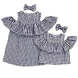 Allecne Familien Kleidung, Mutter und Tochter Kleidung Sommer Family Tank Tops T-Shirt Bluse Baby Kleidung Baby Outfit Babykleidung Mutter Kinder Kleider Tochter Kleidung