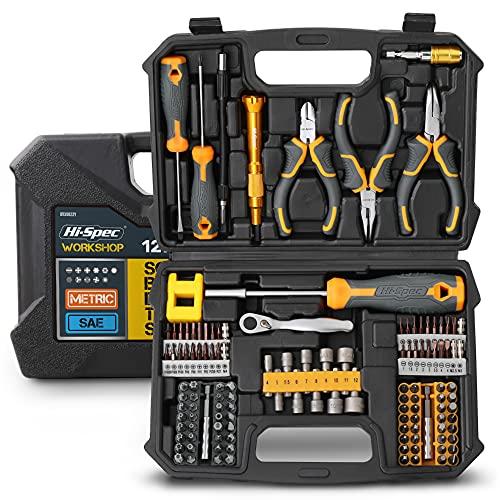 Hi-Spec Werkzeugsatz für Haus und Garage. Vollständige Reparatur- und Wartungshandwerkzeuge für...