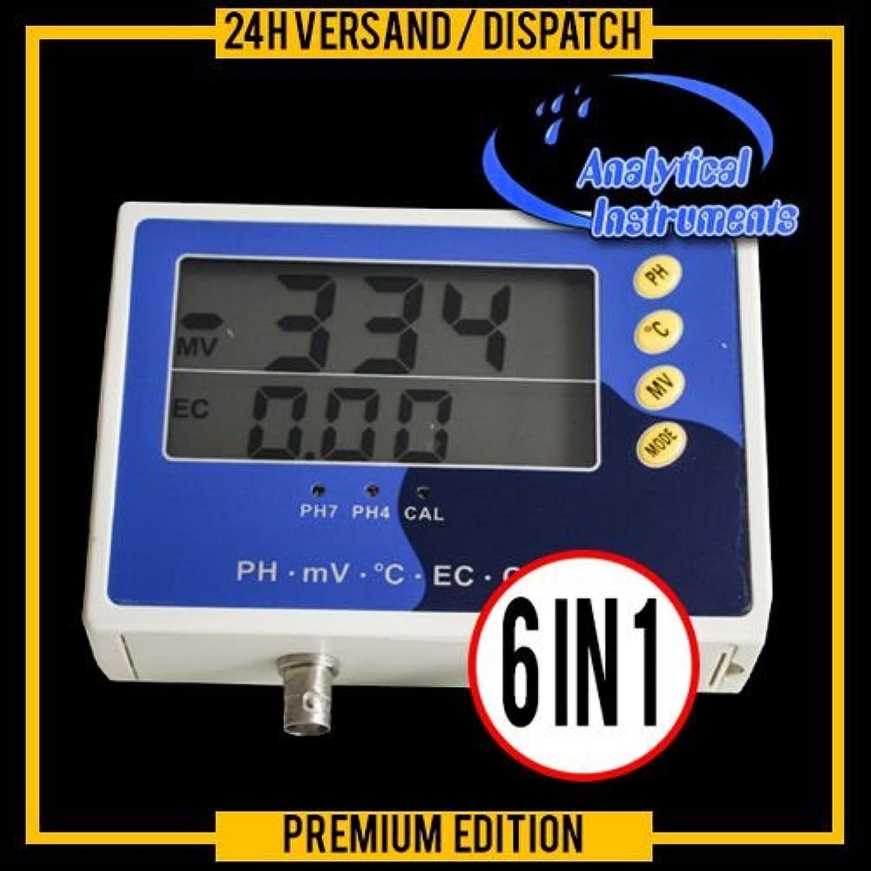 6IN1 MULTI METER TESTER EC CF TDS PH °C °F REDOX METER AQUARIUM POOL SPA P28