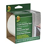 Duck Brand 442063 Self-Adhesive Fiberglass Carpet Seaming Tape, 2.44-Inch by 15-Feet, Single Roll