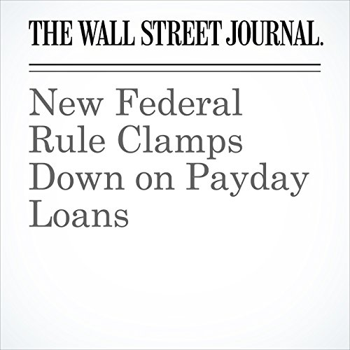 New Federal Rule Clamps Down on Payday Loans copertina