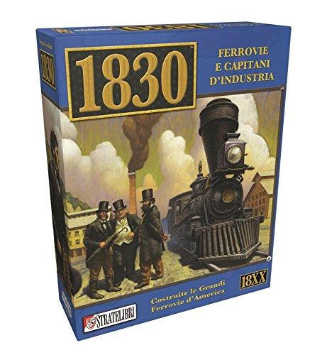 Giochi Uniti SL0058 – Juego de ferrocarriles y Capitanos de Industria