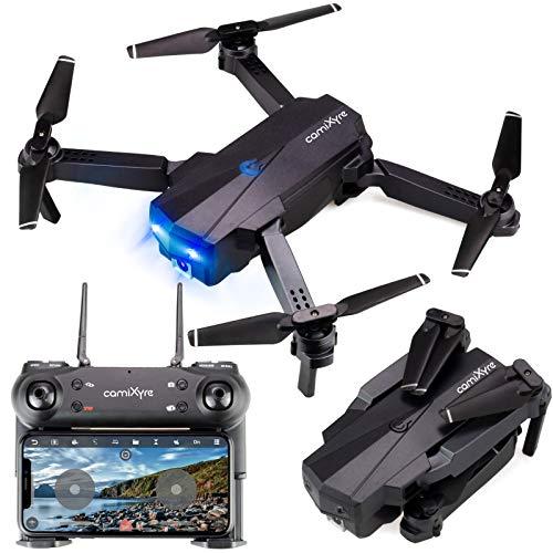 generi Drone con Telecamera ad Alta Definizione HD 1080P Live Video GPS Ritorno Automatico a casa, Follow Me WiFi FPV RC Quadcopter Fly Altituide Hold Flusso Ottico Lungo Raggio di Controllo