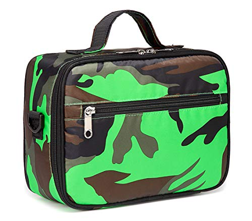 Kids Insulated Lunch Bags for Boys Girls Camouflage Lunchbox for School Outdoor Camping Food Cooler Carrier