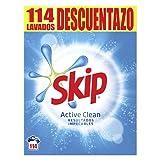 Skip Detergente en Polvo Active Clean 114 Lavados