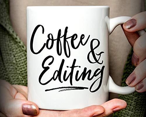 Lplpol Kaffeetasse für Autor, Geschenk für Fotografen, weiß, 15 oz