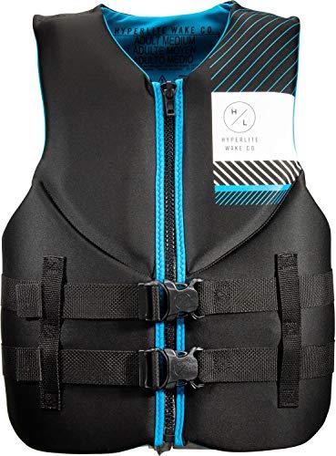 Hyperlite Indy CGA Wakeboard Vest Mens Sz XXXL Black/Blue