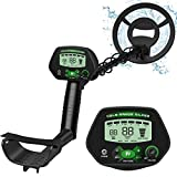 X-R-SPORT Metal detectors for Adults,Metal Detector Waterproof IP68 with High Accuracy, Pinpoint & Disc & Notch& All Metal Mode, Adjustable Light,Easy Operation