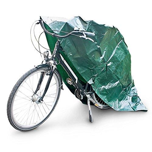 Relaxdays 79258 sehr stabile, wetterfeste Fahrradgarage Abdeckhaube 220 x 120 cm