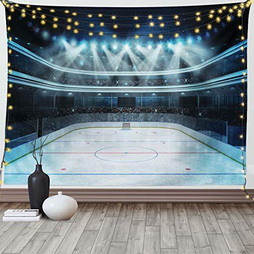Hockey Arena Tapestry