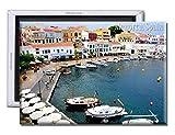 GoPukka Menorca España Día Barcos - Imán para nevera recuerdo (estándar: 70x45mm)