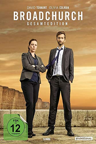 Broadchurch - Gesamtedition (Staffel 1-3) (9 DVDs)