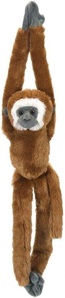Wild Republic - Hanging Monkey, mono de peluche gibón, 51 cm (15259)