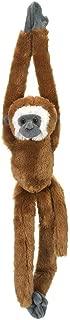 "Wild Republic Hanging LAR Gibbon Monkey Stuffed Animal Plush Toy Gifts for Kids, 20"", Multi"