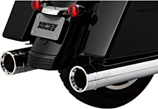 Vance & Hines 17-19 Harley FLHX2 Destroyer 450 Slip-On Exhaust (Chrome with Chrome Tips)