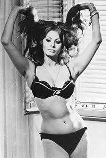 5245af677 Sophia Loren Sexy Bra Panties 24x36 Poster huge cleavage