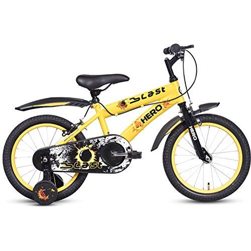 Hero Blast 16T Single Speed Cycle (Yellow)