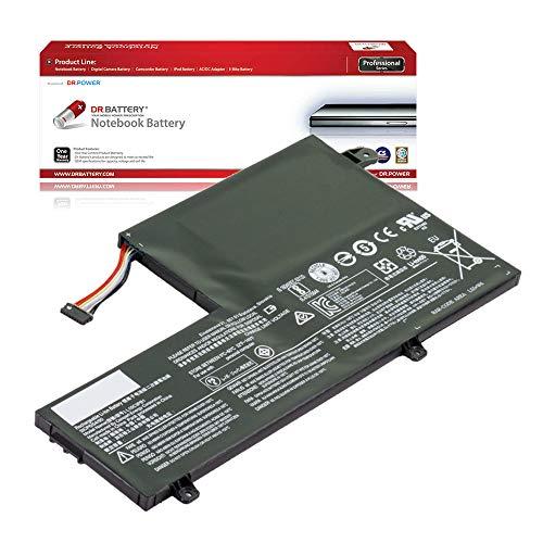 DR. BATTERY Laptop Battery for Lenovo L15C3PB1 L15L3PB0 L15M3PB0 IdeaPad 320S-14IKB 330-15IKB 330S-14IKB 330S-15IKB Flex 4-1470 Flex 4-1570 [11.4V/4178mAh/47Wh]