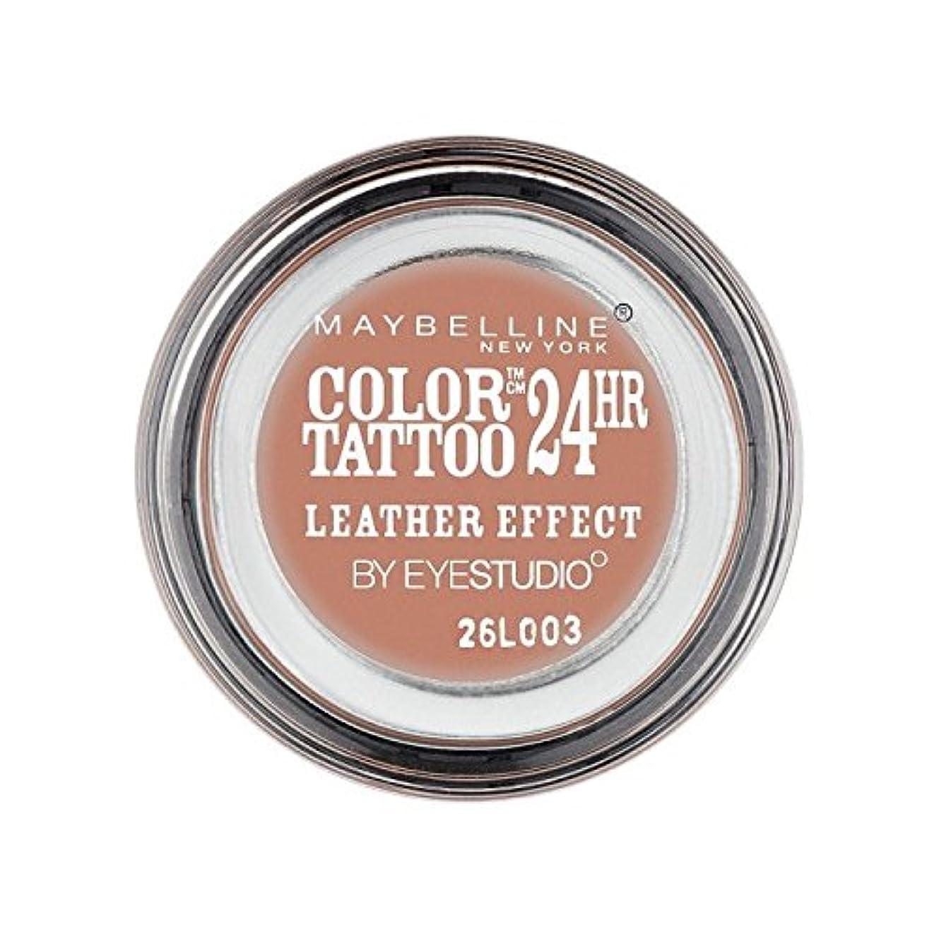 愛情放置鏡Maybelline Color Tattoo 24Hr Eyeshadow Leather Effect 98 - メイベリンカラータトゥー24時間アイシャドウレザー効果98 [並行輸入品]