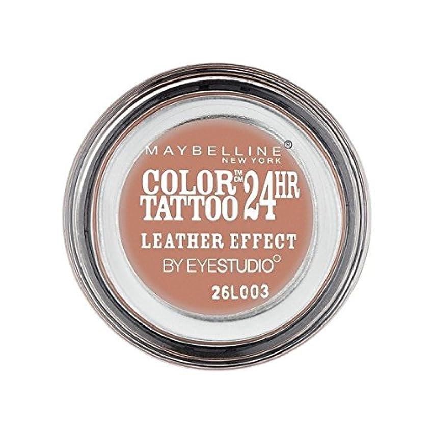 配管工振るショットMaybelline Color Tattoo 24Hr Eyeshadow Leather Effect 98 - メイベリンカラータトゥー24時間アイシャドウレザー効果98 [並行輸入品]