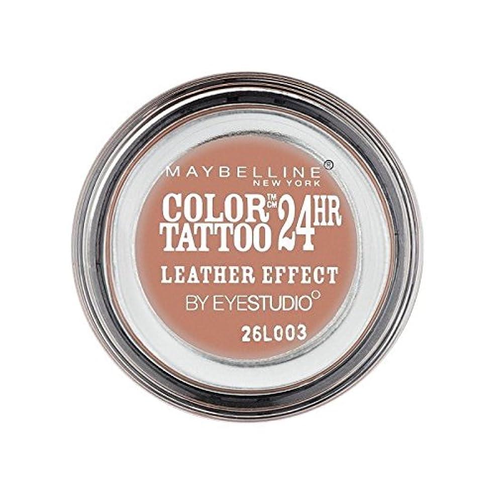 確実ディーラークルーズMaybelline Color Tattoo 24Hr Eyeshadow Leather Effect 98 (Pack of 6) - メイベリンカラータトゥー24時間アイシャドウレザー効果98 x6 [並行輸入品]